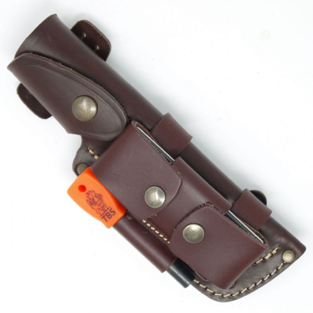 Mk I TBS Leather Multi Carry Knife Sheath - DC4 & Firesteel Edition